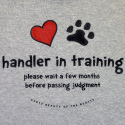 Handler in Training - Don't Pass Judgment
